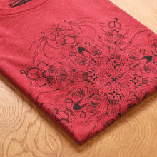 Load image into Gallery viewer, Mighty Nein Mandala T-shirt