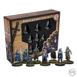 Critical Role Mighty Nein Miniatures