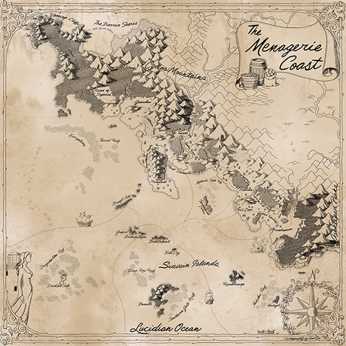 Critical Role Menagerie Coast Map