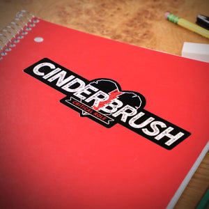 Cinderbrush Sticker