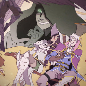 Critical Role 5 Year Anniversary Poster