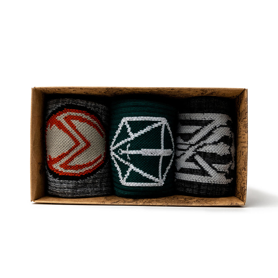 Critical Role 3 Pack of Socks
