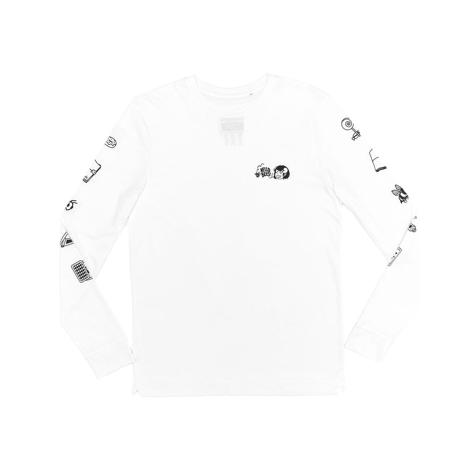 Hello Bees Long Sleeve T-Shirt