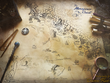 Load image into Gallery viewer, Critical Role Menagerie Coast Map