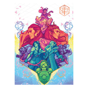 Critical Role Vox Machina 1000 Piece Jigsaw Puzzle