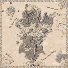 Load image into Gallery viewer, Critical Role Tal'Dorei Map