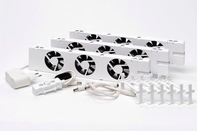 Radiator ventilator Trio Set