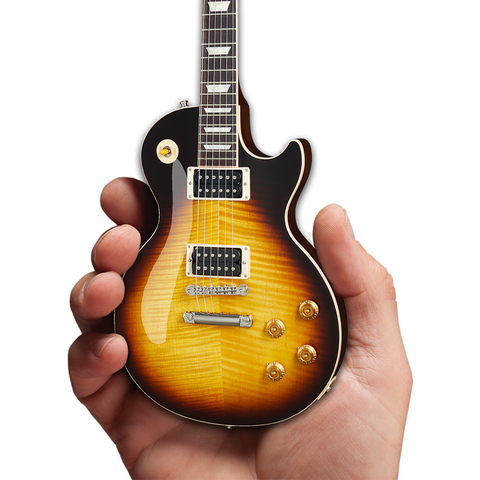Axe Heaven Les Paul Standard November Burst Mini Guitar