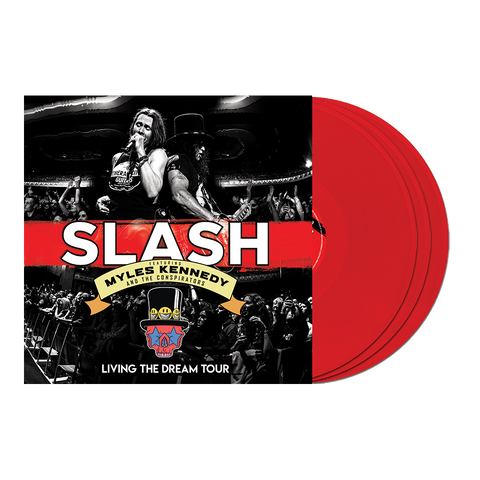 Living the Dream Tour Red 3LP
