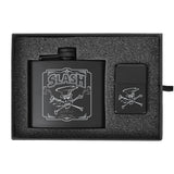Flask & Lighter Gift Box