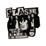 Slash Sticker 4 Pack