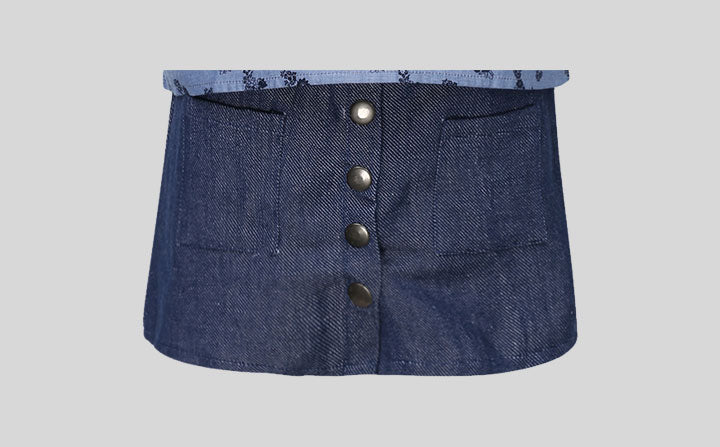 SP-18 Denim skirt