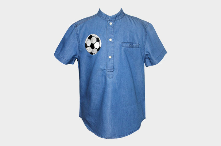Soccer Open Short Sleeves Shirt