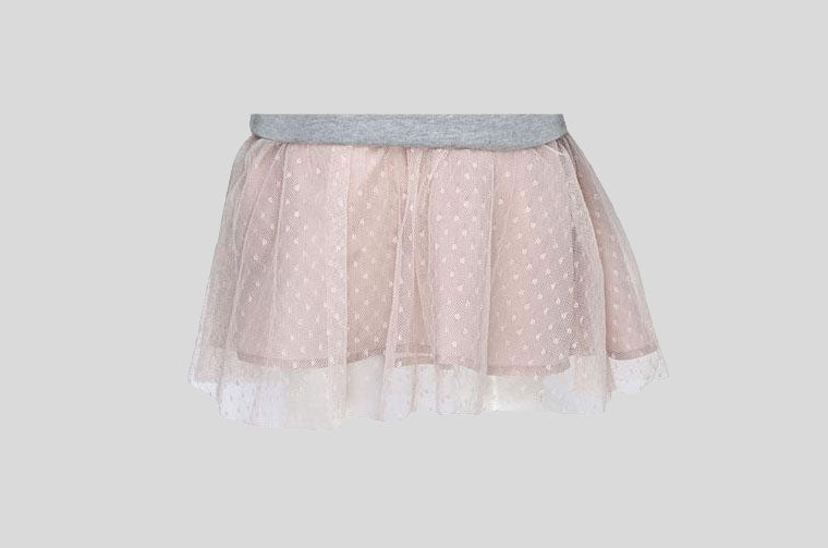 Pretty Dotty Net Skirt Back Side