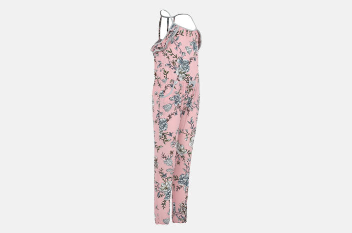 SP-39 Flower Jumpsuit