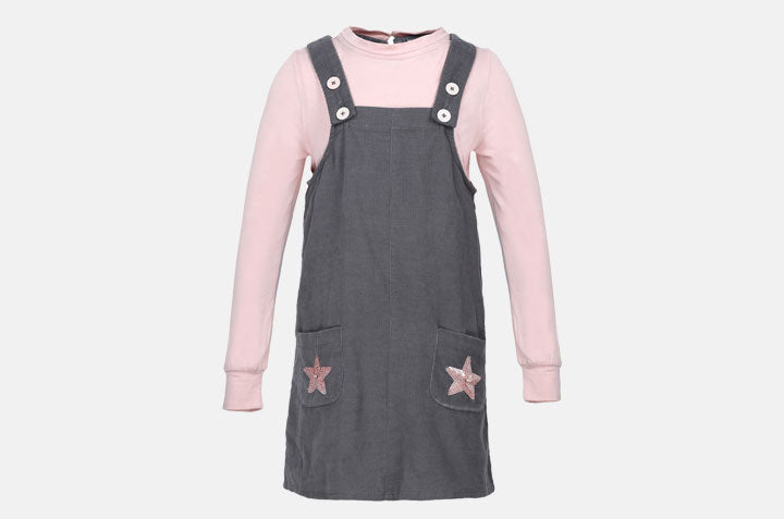 SP-12 Cord Dungaree Set