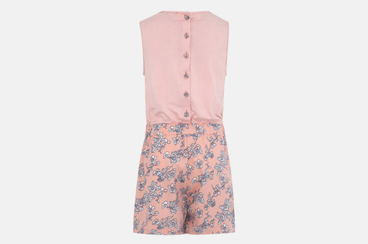 SP-14 Floral Playsuit