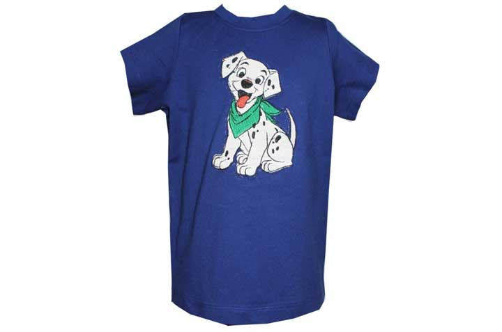 SPB10 Harry Woof Stylish Tee front view