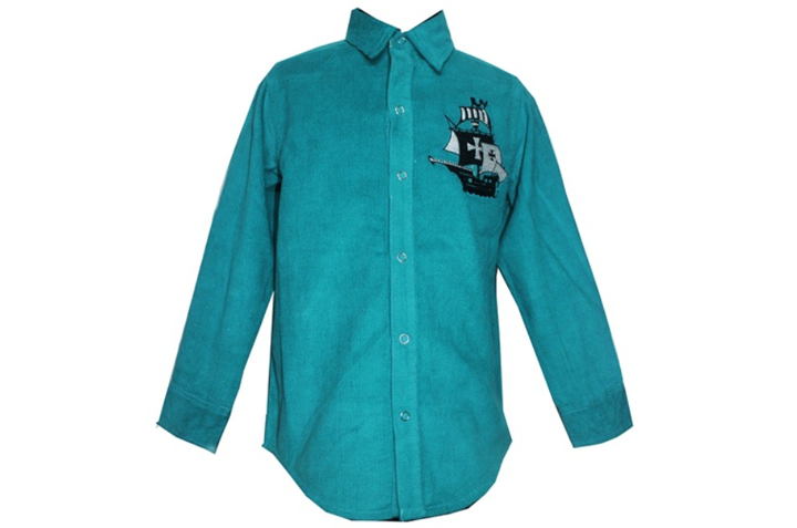 Ship Cord Full Sleeves Shirt Front