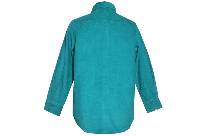 Ship Cord Full Sleeves Shirt Rear View