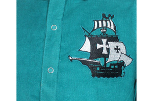 Boys Shirt With Pirate Ship