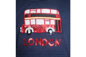 Greg Sweatshirt with Iconic London Red Bus