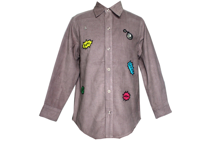 Jack Hero Cord Buttoned Shirt