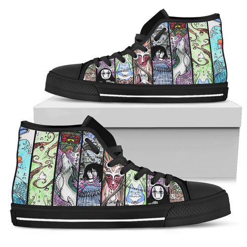 Amazing Anime Characters Shoes