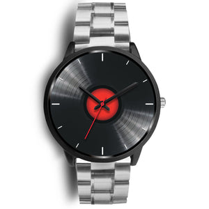 Black Retro Vinyl Watch
