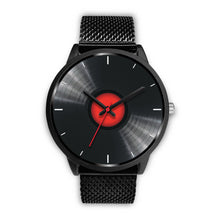 Load image into Gallery viewer, Black Retro Vinyl Watch
