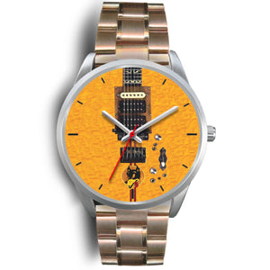 Fashion Wolf Electric Guitar Watch