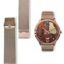 Load image into Gallery viewer, Figured Walnut 55 Falcon Guitar Watch