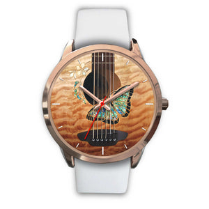 Fashion Butterfly Guitar Watch