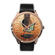 Load image into Gallery viewer, Fashion Butterfly Guitar Watch