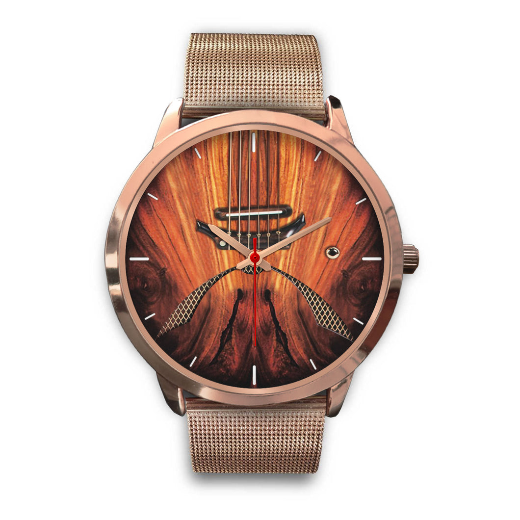 Semi Electric Guitar Watch