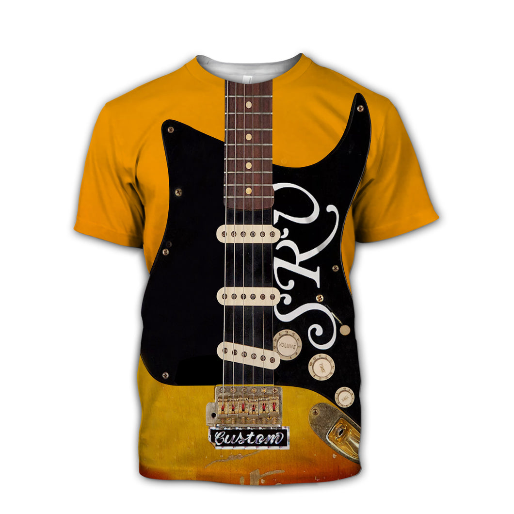SRV Guitar T-Shirt