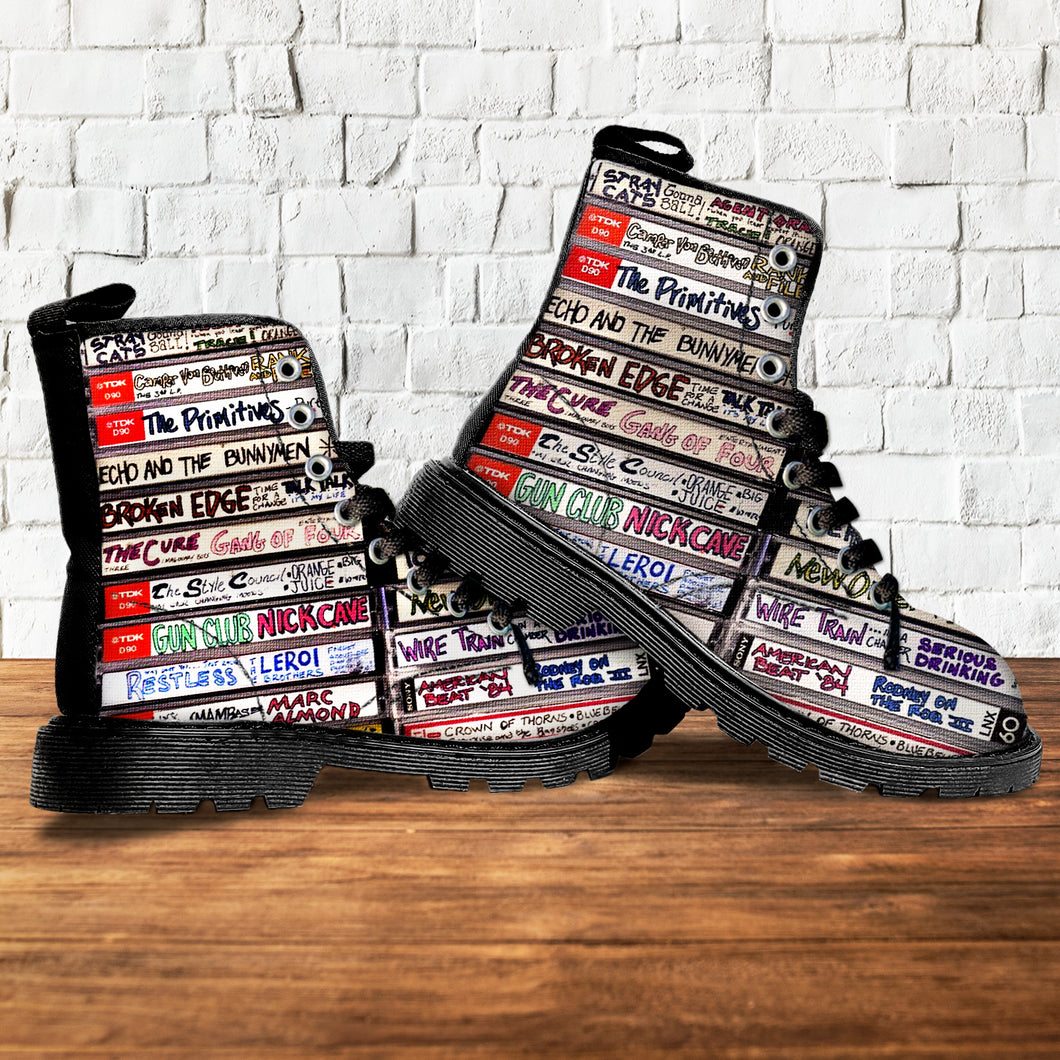 The Lost Art Of Cassette Leather Boots