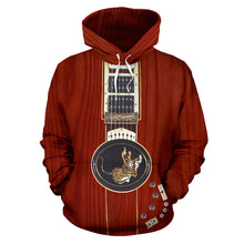 Load image into Gallery viewer, Tiger Guitar Hoodie