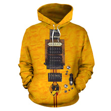 Load image into Gallery viewer, Wolf Guitar Hoodie