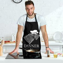 Load image into Gallery viewer, Dinner Is Coming Men's Apron