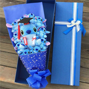 Stitch Plush Flower