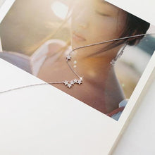 Load image into Gallery viewer, Silver Stars Necklace