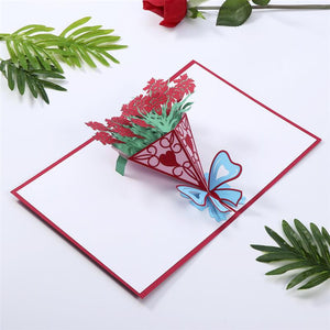 3D Pop Up Valentine Card