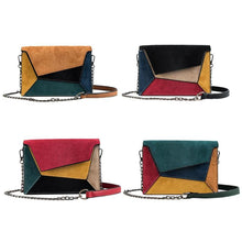 Load image into Gallery viewer, Color Velvet Leather Bag