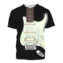 Load image into Gallery viewer, Black FD Guitar T-Shirt