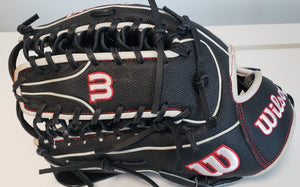 "USED 2021 Wilson A2000 SCOT7SS 12.75"" Outfield Baseball Glove Left Hand Throw"