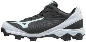 Mizuno 9-SPIKE ADVANCED YOUTH FRANCHISE 9 LOW MOLDED BASEBALL CLEAT (Black)
