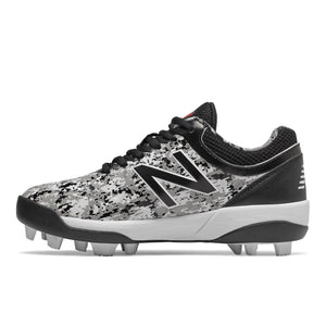New Balance 4040v5 Pedroia Youth Rubber Baseball Cleat