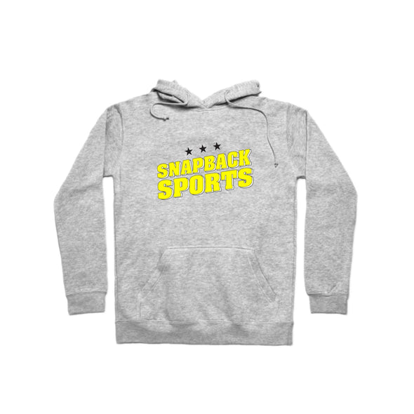 SnapBack Sports Logo Pullover Hoodie