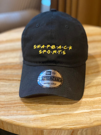 Snapback Sports New Era Dad Hat - Black - FOR CHARITY!